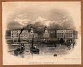 Royal Naval Hospital, Greenwich, with ships and rowing boats Wellcome V0013286.jpg