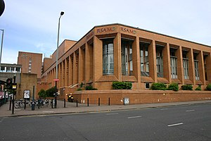 Royal Conservatoire of Scotland - Front facade of the Conservatoire.