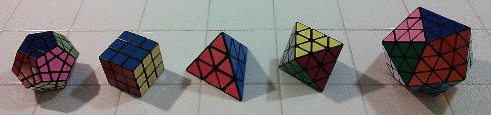Rubiks Platonic Solids