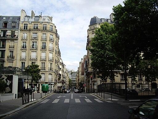 Rue Dufrenoy - Boulevard Flandrin, Paris 16