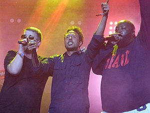 Run the Jewels - Run the Jewels with Zack de la Rocha at the 2015 Coachella Festival