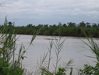 Ruzizi River - Hippopotami in the Ruzizi River in Burundi