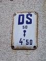 Ruská, značka DŠ50.jpg