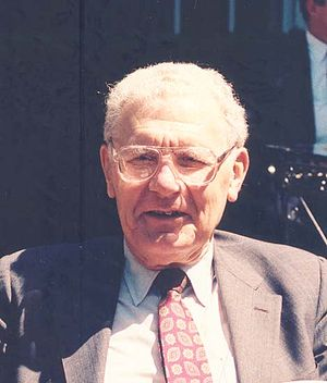 Russell L. Ackoff - Russell Ackoff at Washington University in St. Louis, May 1993