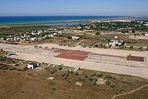 Saky Raion - Airbase at Novofedorivka, Saky District