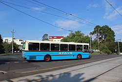Ryan's bus in Mount Alexander Road, 2013.JPG