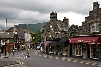 Ambleside - Image: Rydal Rd, Ambleside, Cumbria June 2009