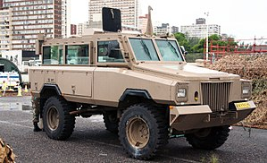 SANDF Armed Forces Day 2017 - South African Army Mamba MkIII APC (32203158584).jpg