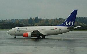 SAS Braathens - Boeing 737-700