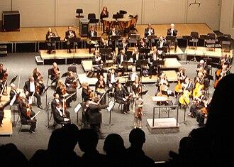 San Antonio Symphony - Standing ovation for San Antonio Symphony and violin virtuoso Midori Goto, Sep 28, 2007.
