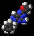 SCH-58261 molecule spacefill.png