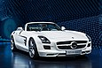 2011 Mercedes-Benz SLS AMG Roadster at the 2011 Frankfurt Motor Show.