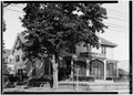 SOUTHEAST, OBLIQUE VIEW - Brooks House, 260 Lafayette Street, Salem, Essex County, MA HABS MASS,5-SAL,47-2.tif