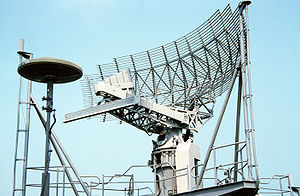 AN/SPS-49 - Image: SPS 49 Air Search Radar antenna