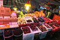 SZ 深圳 Shenzhen 福田 Futian 水圍村夜市 Shuiwei Cun Night food Market fruit May 2017 IX1.jpg