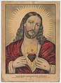 Sacred Heart of Jesus- Sacre ́Coeur de Jesus - Saǵrado Coŕazon de Jesus LCCN2001704233.jpg