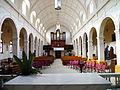 Sacred heart church st kilda interior front.JPG