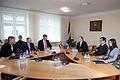Saeimas deputāti tiekas ar Igaunijas aizsardzības ministru (6770221121).jpg