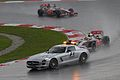 Safety Car with Lewis Hamilton 2012 Malaysia.jpg