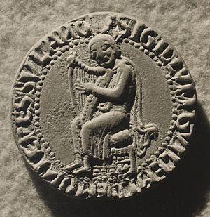 William VIII of Montpellier - Image: Sagèl Guilhèm VIII
