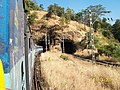 Sahyadri Express from Pune entering Tunnel after Khandala - panoramio.jpg