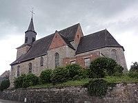 Sains-du-Nord (Nord, Fr) église, vue latérale.jpg