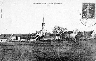 Saint-Florent, Loiret - An old postcard view of Saint-Florent