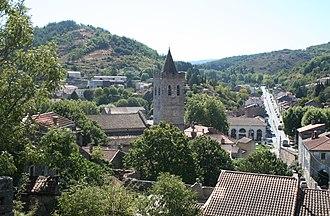 Saint-Pons-de-Thomières - A general view of Saint-Pons-de-Thomières