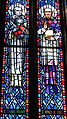 Saint Anthony of Padua Catholic Church (Dayton, Ohio) - stained glass, Sts. Thomas Aquinas & Francis de Sales.JPG