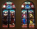 Saint Joseph Cathedral (San Diego, California) - stained glass, chapel, Sts. Francis Xavier, Francis of Assisi, Anne & Virgin Mary, Joakim.jpg