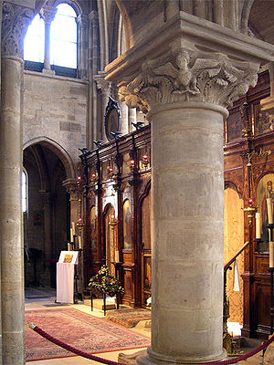 Condemnations of 1210–1277 - Interior of the Saint-Julien-le-Pauvre, the former site of the School of Theology and Arts and later associated with the Faculty of Arts at the University of Paris