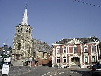 Saint-Python - Image: Saint python center of the village