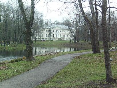 Kuidas ühistranspordiga sihtpunkti Saku Mõisa park jõuda - kohast