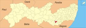 Localização de Saloá