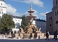 Salzburg, fontein op het Residenzplatz foto2 2017-08-13 17.40.jpg