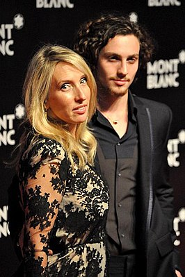 Sam & Aaron Taylor-Johnson in september 2010
