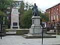 Samuel Crompton memorial statue, Bolton - geograph.org.uk - 980458.jpg
