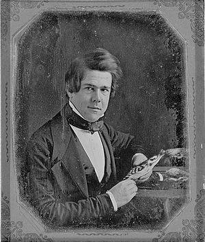 Samuel Washington Woodhouse - 1847 daguerreotype