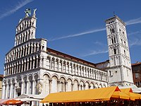 San Michele, Lucca, Italy - oblique view.JPG