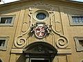 San giovannino dei cavalieri, facciata 03 stemma cavalieri di malta.JPG