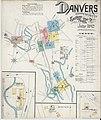 Sanborn Fire Insurance Map from Danvers, Essex County, Massachusetts. LOC sanborn03714 002-1.jpg