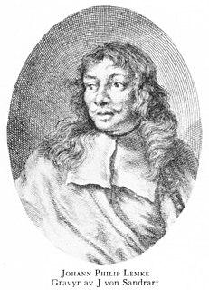 Johann Philip Lemke Swedish painter