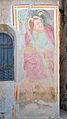 Sankt Magdalena Kirche in Dreikirchen Fragment Fresko aussen.jpg