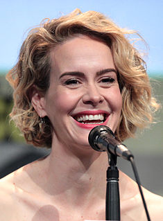 Sarah Paulson American film, stage, and television actress
