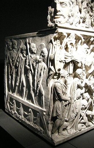Portonaccio sarcophagus - Image: Sarcofago dio portonaccio, 07