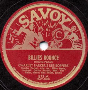 Savoy Records - Savoy disc from the 1940s