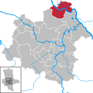 Schönebeck - Image: Schönebeck (Elbe) in SLK