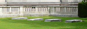 Royal Burial Ground, Frogmore - Schleswig-Holstein plot at Royal Burial Ground, Frogmore