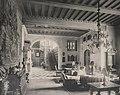 Schloss Friedrichshof, Halle mit Treppenhaus, 1895.jpg