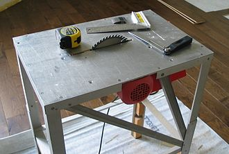 Circular saw - Table saw.